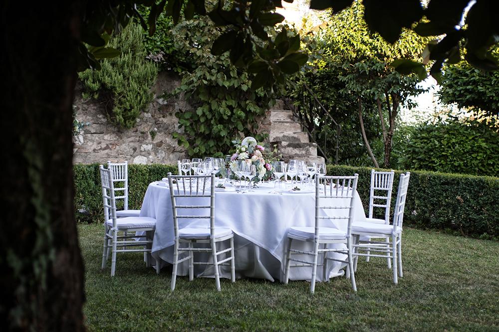catering pranzo Rocca Lonato ©Movida Wedding