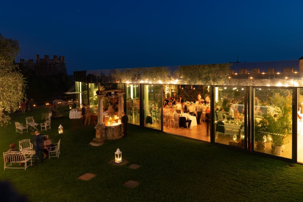 cena in rocca ©Movida Wedding