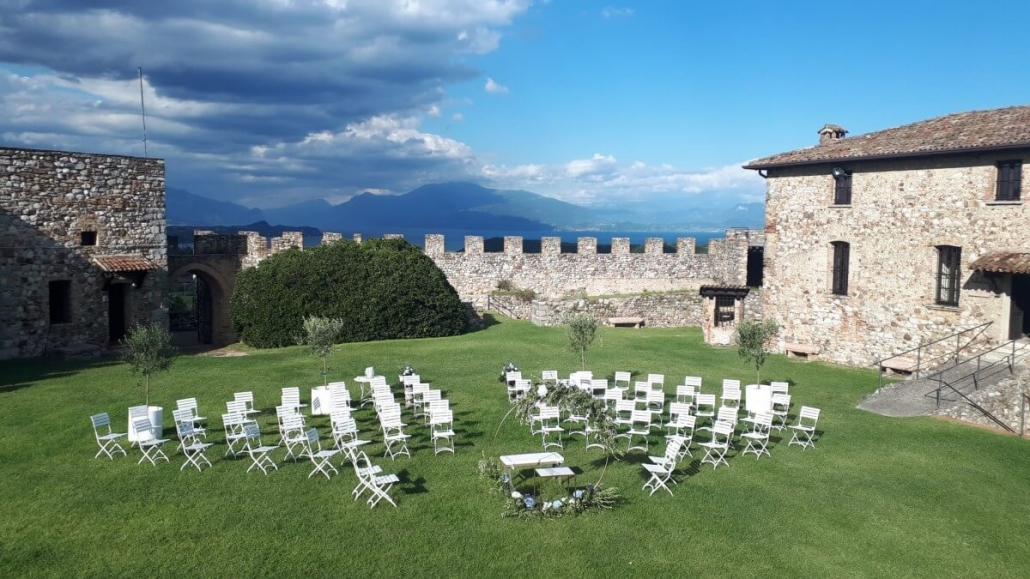 cerimonia Rocca Lonato ©Movida Wedding