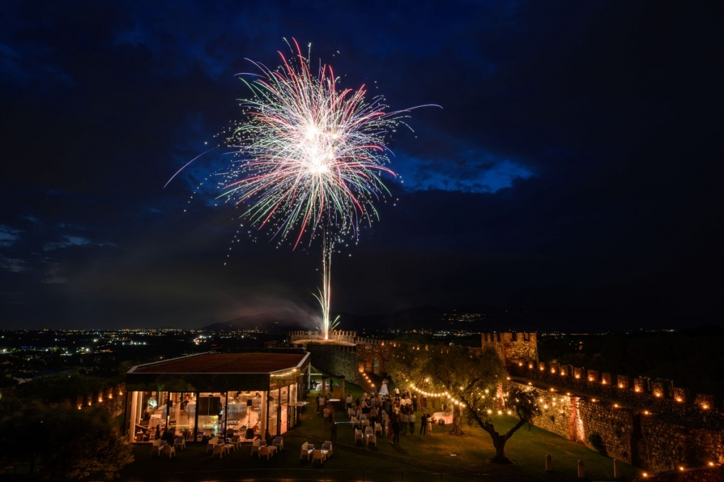 fuochi artificio matrimonio ©Movida Wedding