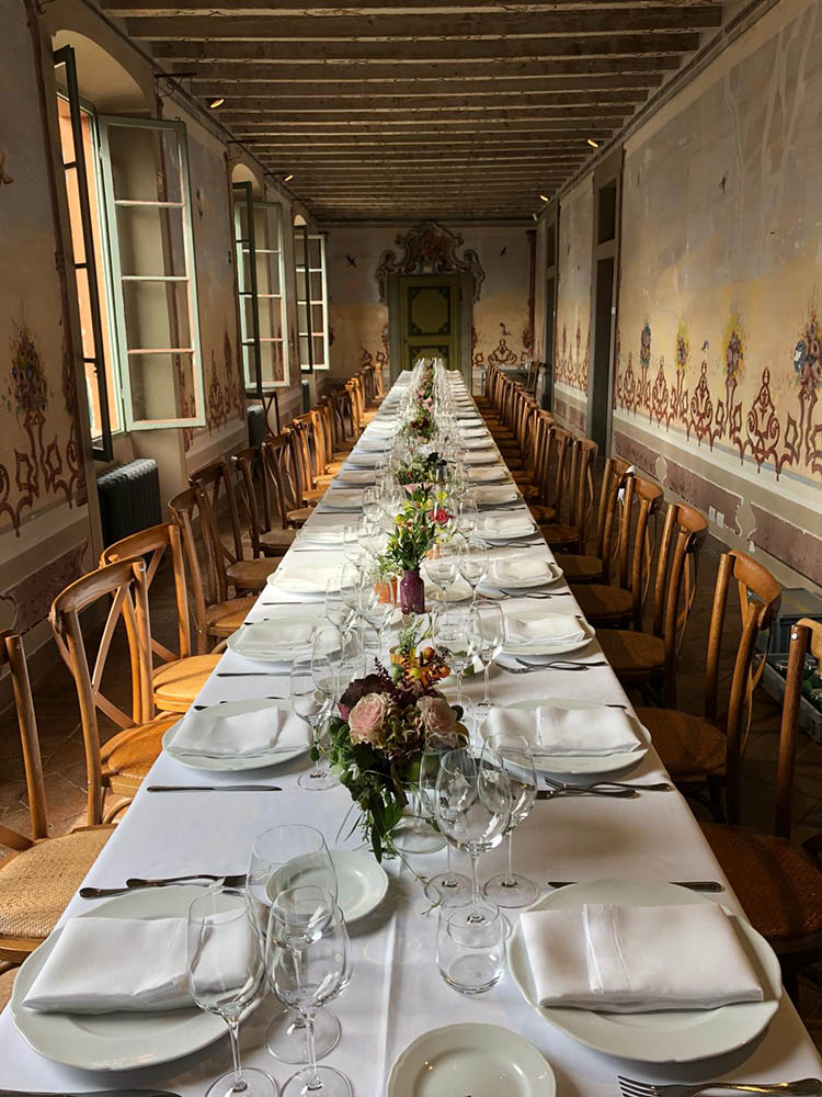 Catering - Villa Leonesio 1