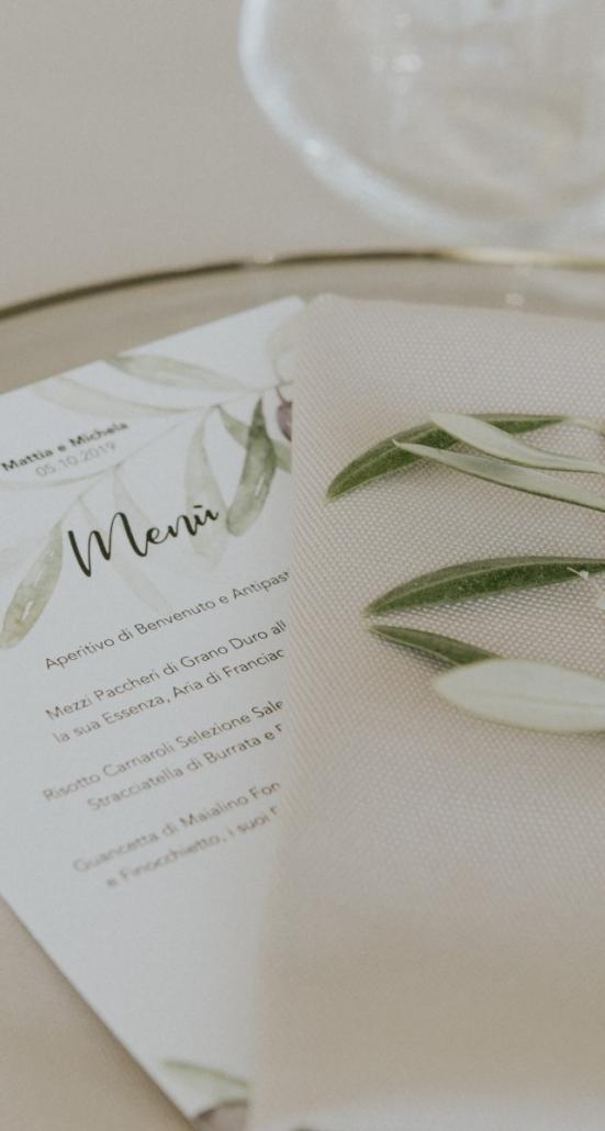 menu matrimonio ©Letizia Tonolini