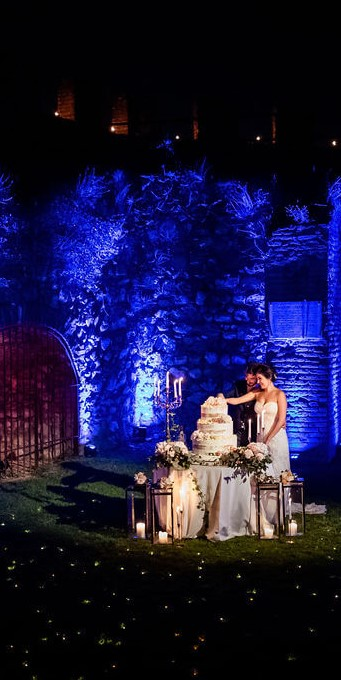 torta matrimonio rocca ©Eugenio Luti